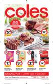Coles Catalogue - 13.1.2021 - 19.1.2021.