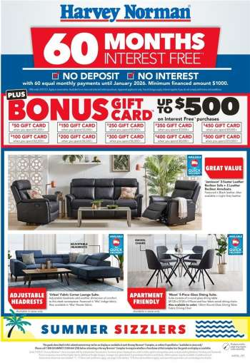 Harvey Norman Catalogue - 25.1.2021 - 31.1.2021.