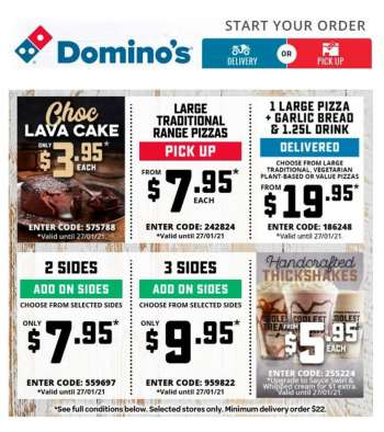 Domino's Catalogue - 27.1.2021 - 27.1.2021.