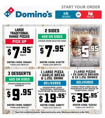 Domino's Catalogue - 28.1.2021 - 28.1.2021.