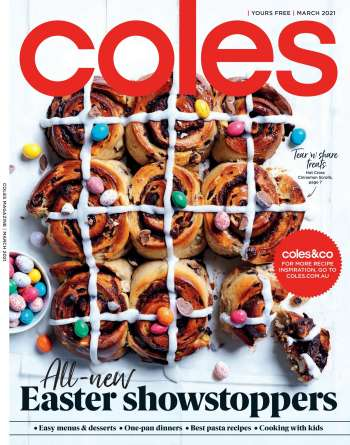 Coles Catalogue - 4.3.2021 - 4.4.2021.
