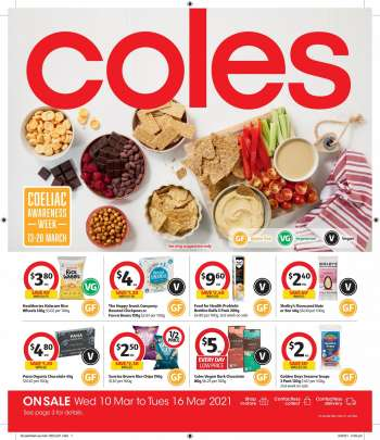 Coles Catalogue - 10.3.2021 - 16.3.2021.
