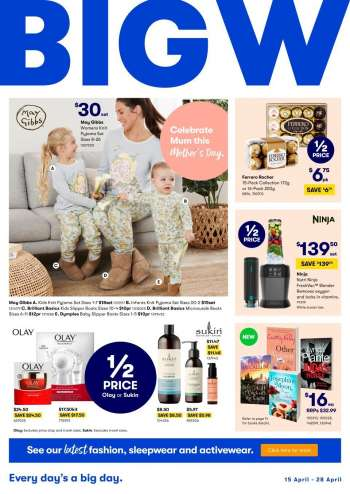 BIG W Catalogue - 15.4.2021 - 28.4.2021.