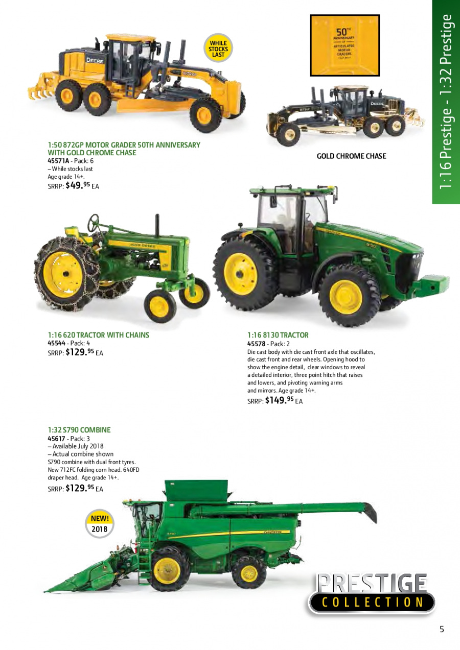 John Deere catalogue and weekly specials 1 2 2018 - 31 1