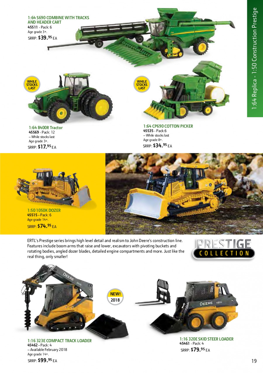 John Deere catalogue and weekly specials 1 2 2018 - 31 1 2019 | Au