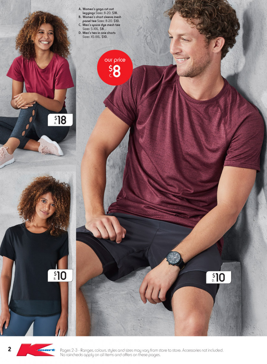 Kmart catalogue  - 15.2.2018 - 7.3.2018. Page 2.