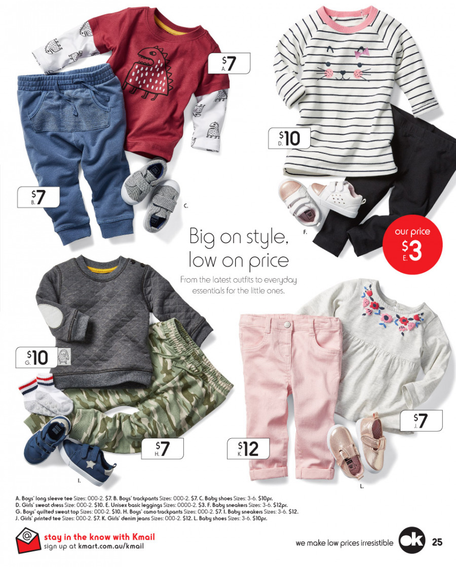 Kmart catalogue  - 8.3.2018 - 28.3.2018. Page 25.