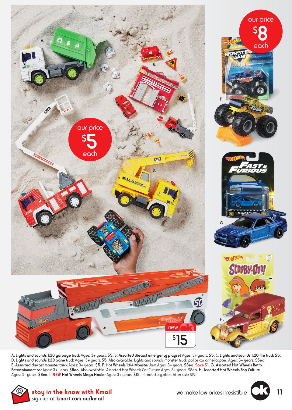 Kmart catalogue  - 29.3.2018 - 18.4.2018. Page 11.
