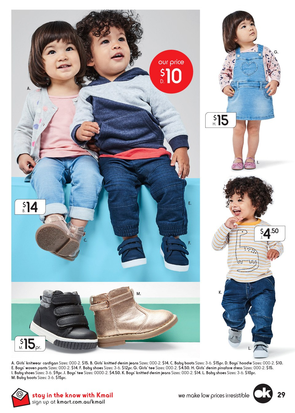 Kmart catalogue  - 29.3.2018 - 18.4.2018. Page 29.