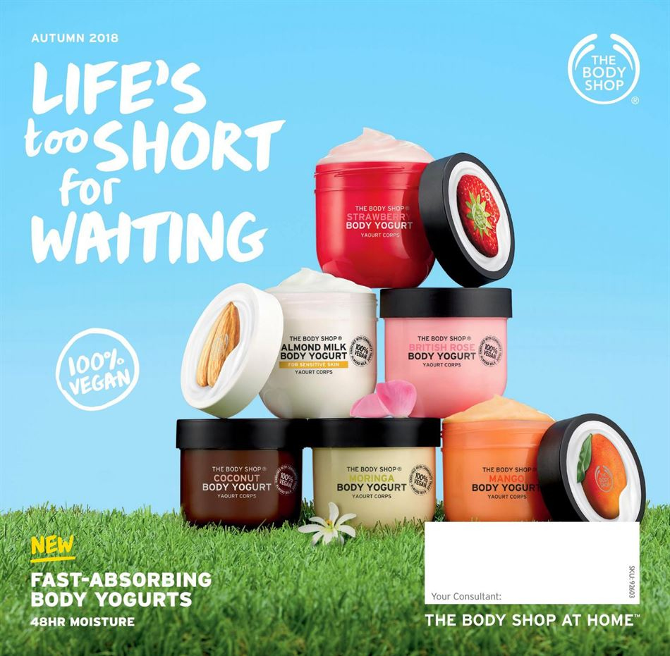 The Body Shop catalogue  - 18.4.2018 - 30.6.2018. Page 1.