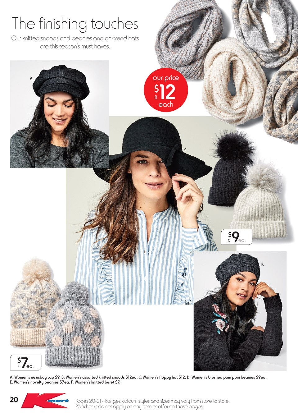 Kmart catalogue  - 3.5.2018 - 13.5.2018. Page 20.