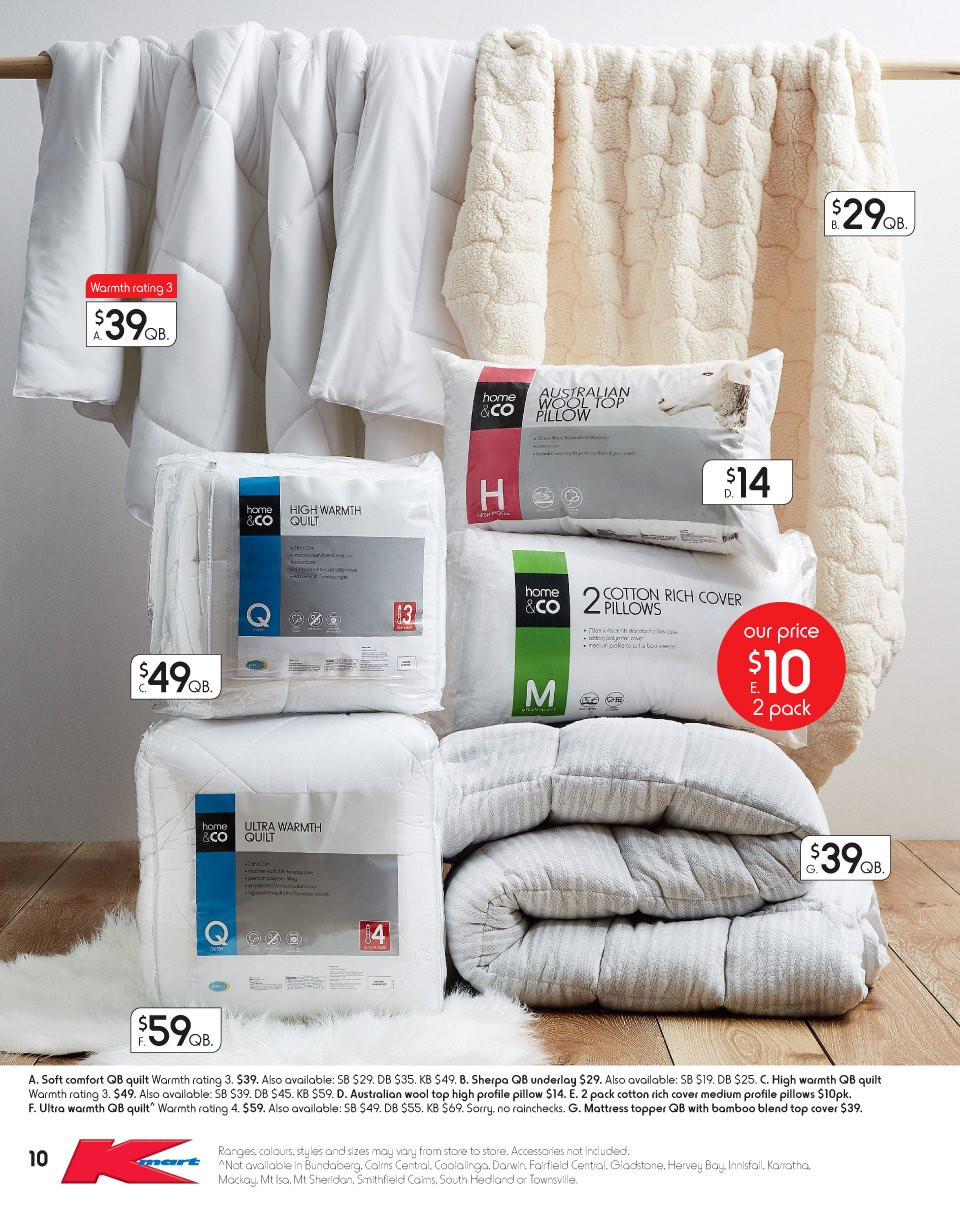 Kmart catalogue  - 17.5.2018 - 6.6.2018. Page 10.