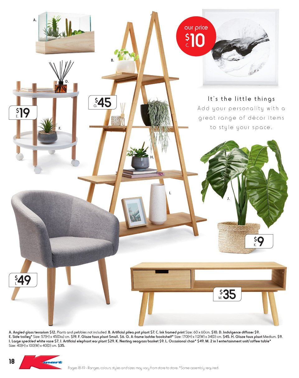 Kmart catalogue  - 17.5.2018 - 6.6.2018. Page 18.
