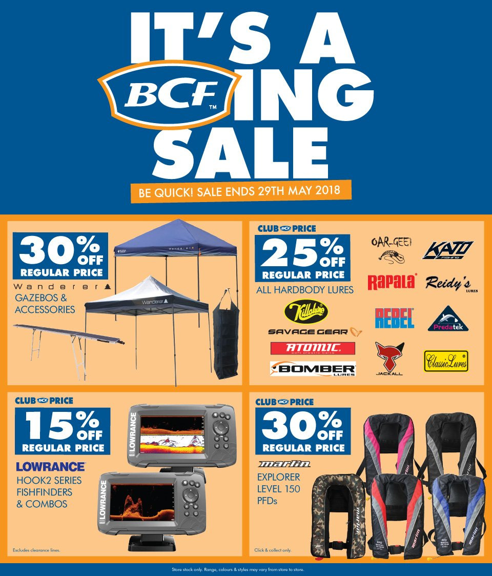 BCF catalogue  - 21.5.2018 - 29.5.2018. Page 1.