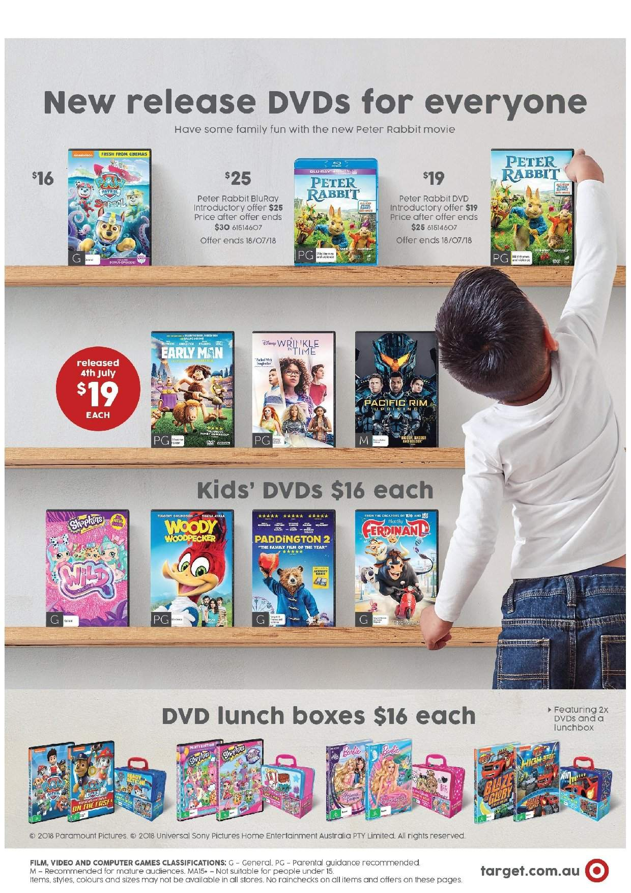 Target Catalogue And Weekly Specials 28 6 2018 18 7 2018
