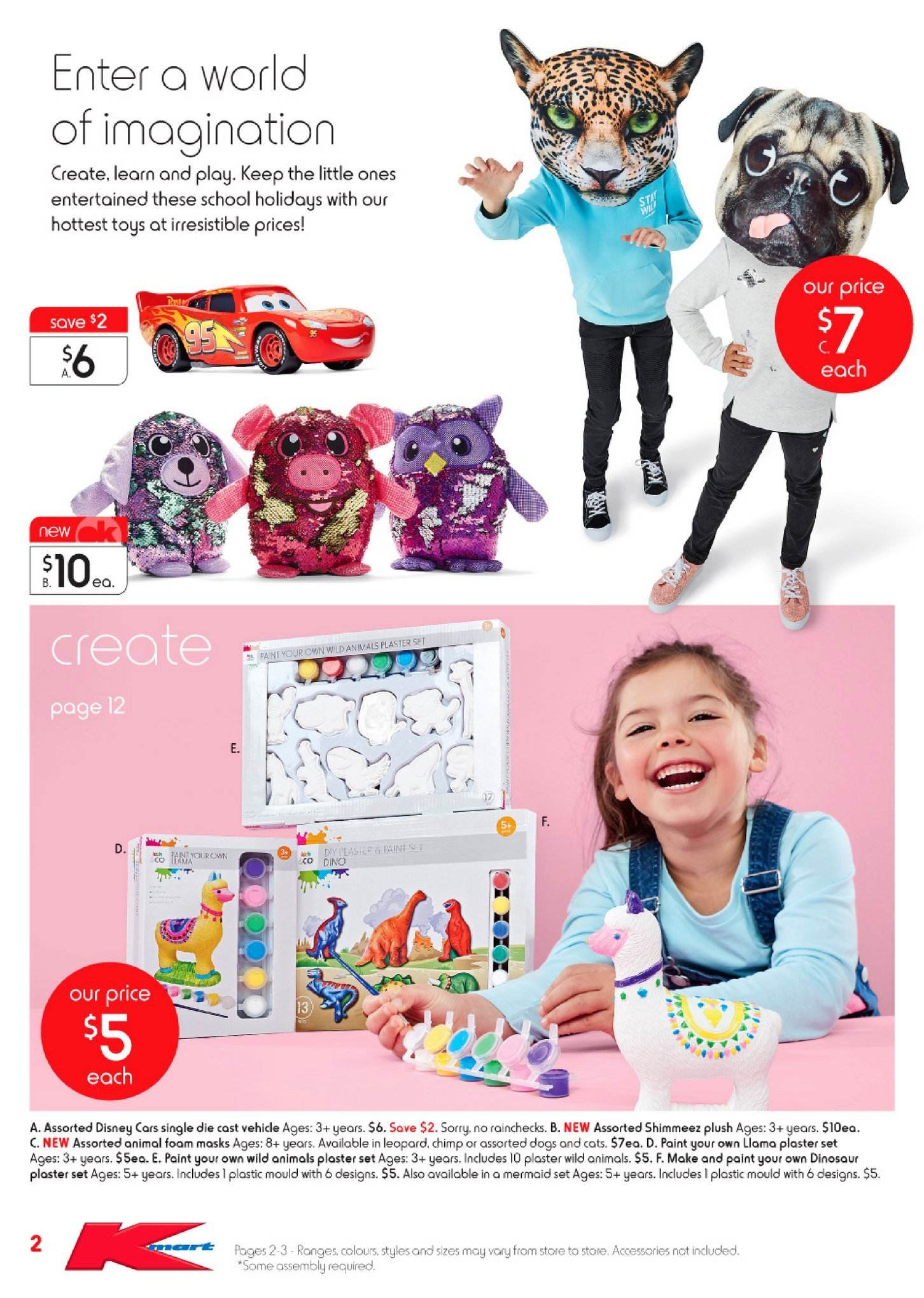 Kmart catalogue  - 28.6.2018 - 18.7.2018. Page 2.