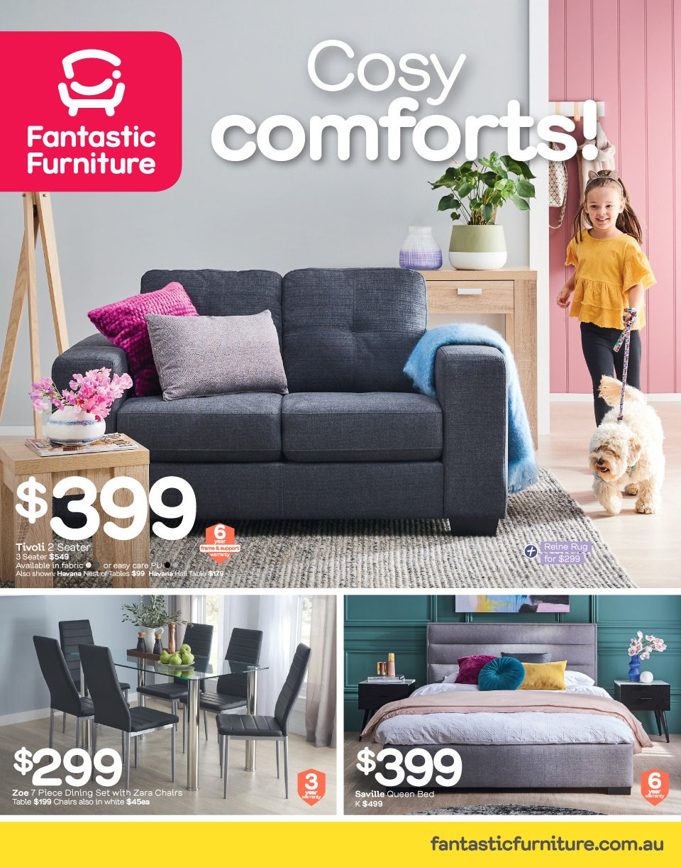 Fantastic Furniture catalogue  - 2.7.2018 - 29.7.2018. Page 1.