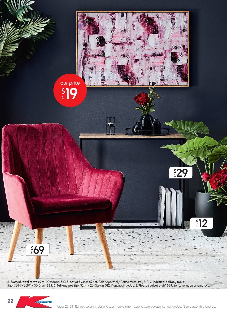 Kmart catalogue  - 2.8.2018 - 22.8.2018. Page 22.