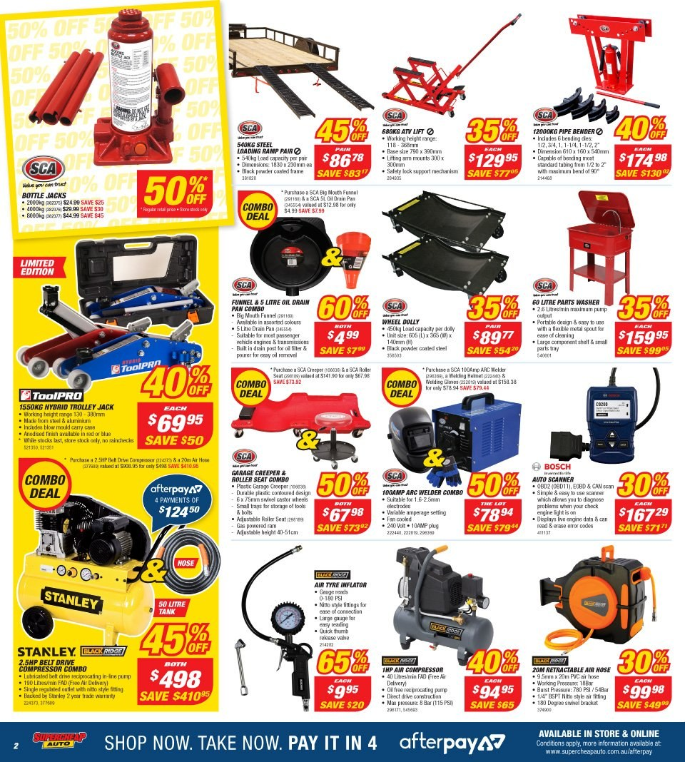 Supercheap Auto catalogue and weekly specials 8 8 2018
