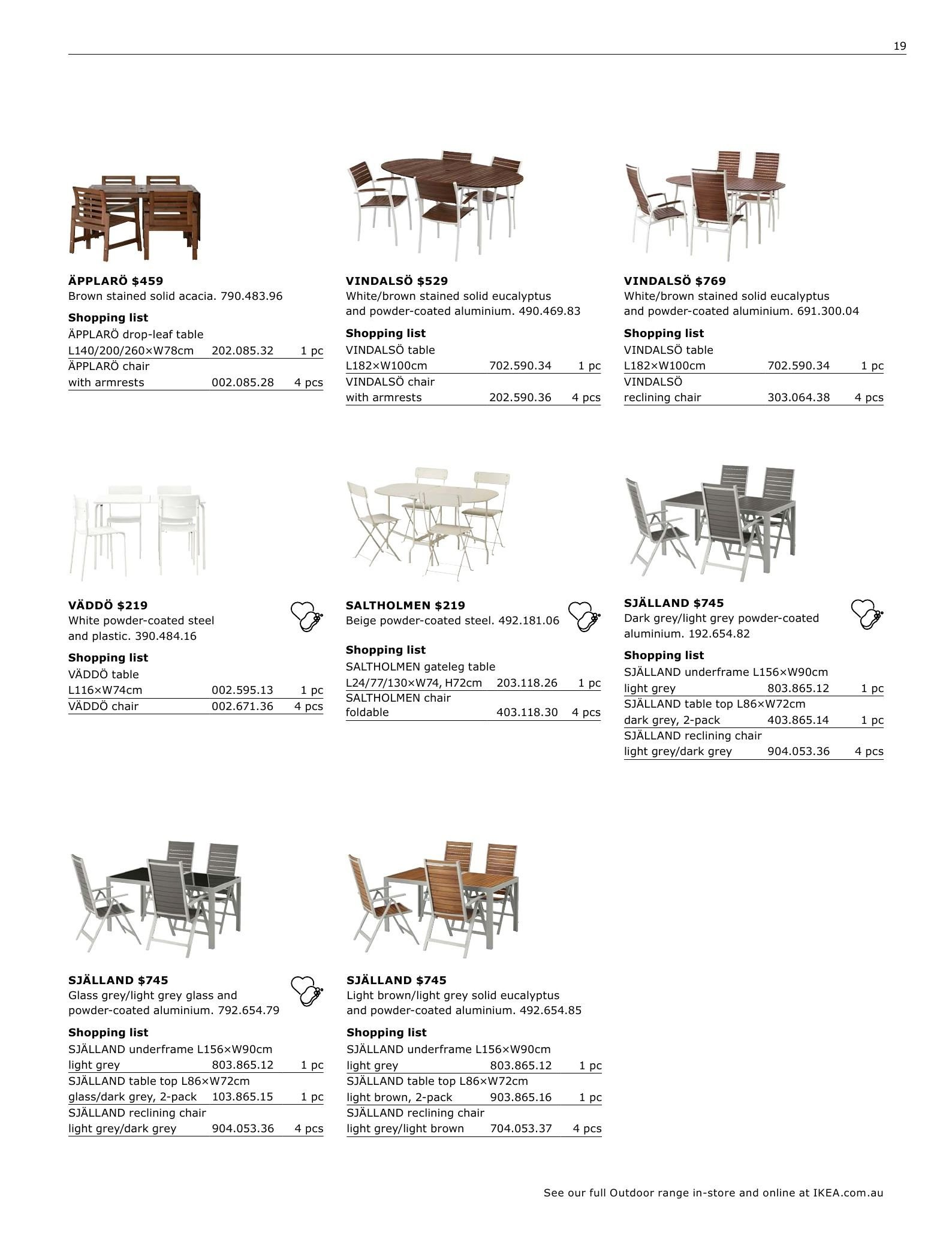 Incredible Ikea Catalogue And Weekly Specials 12 8 2018 31 7 2019 Unemploymentrelief Wooden Chair Designs For Living Room Unemploymentrelieforg