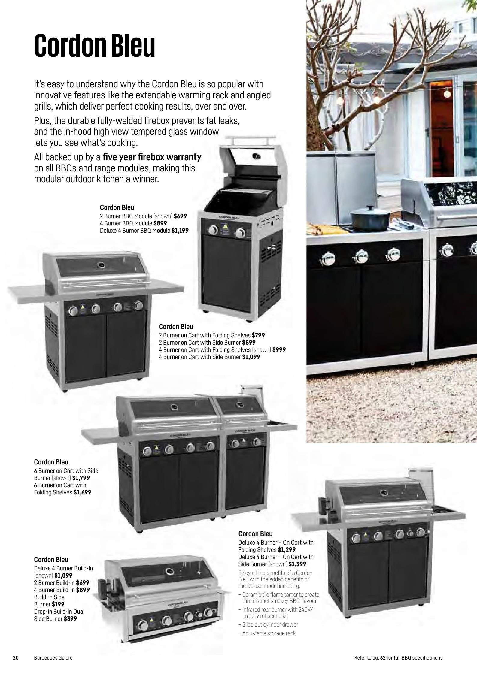 Barbeques Galore Catalogue And Weekly Specials Page 22 Au Catalogues
