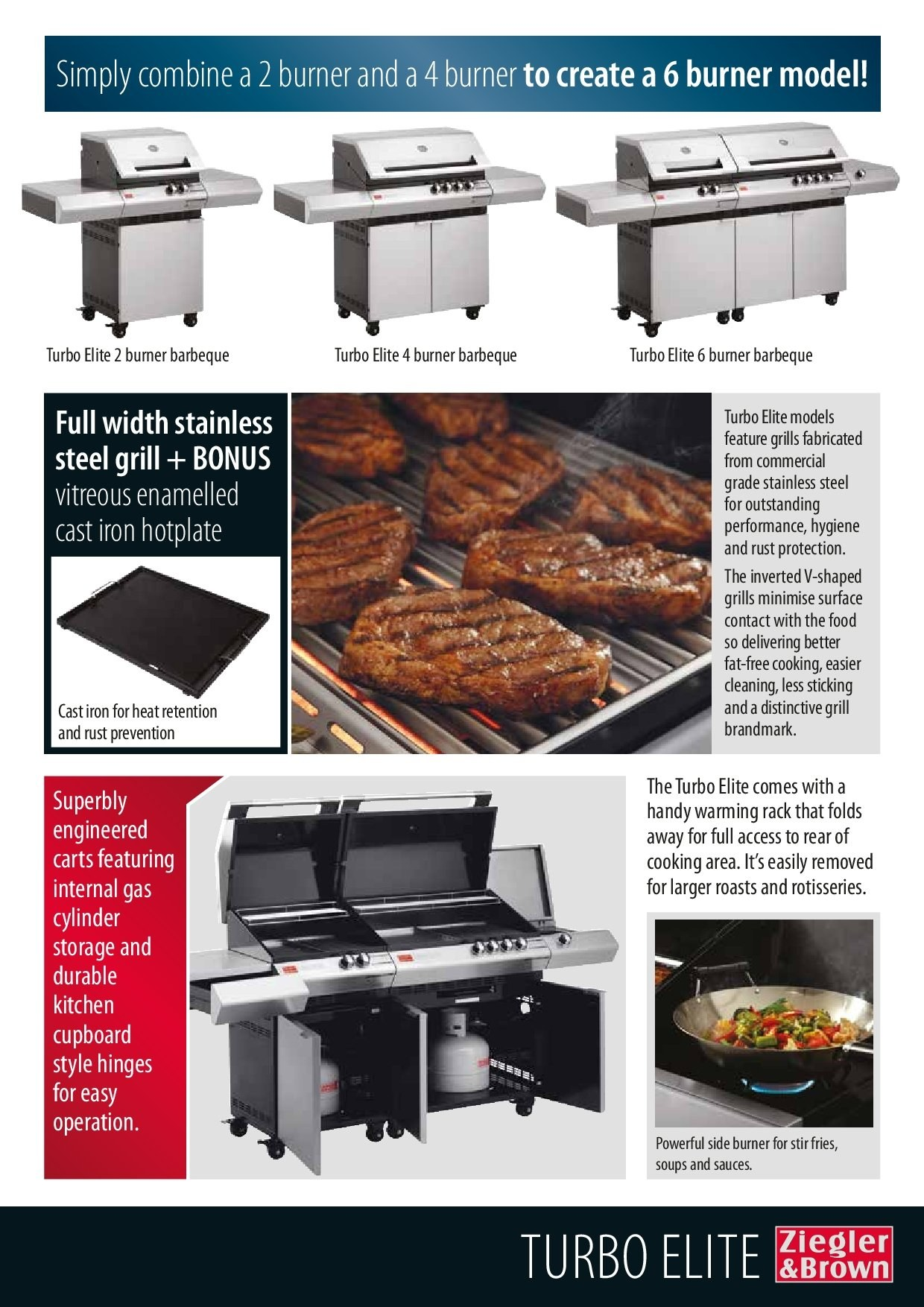 Barbeques galore catalogue sales products grill rack stainless steel iron