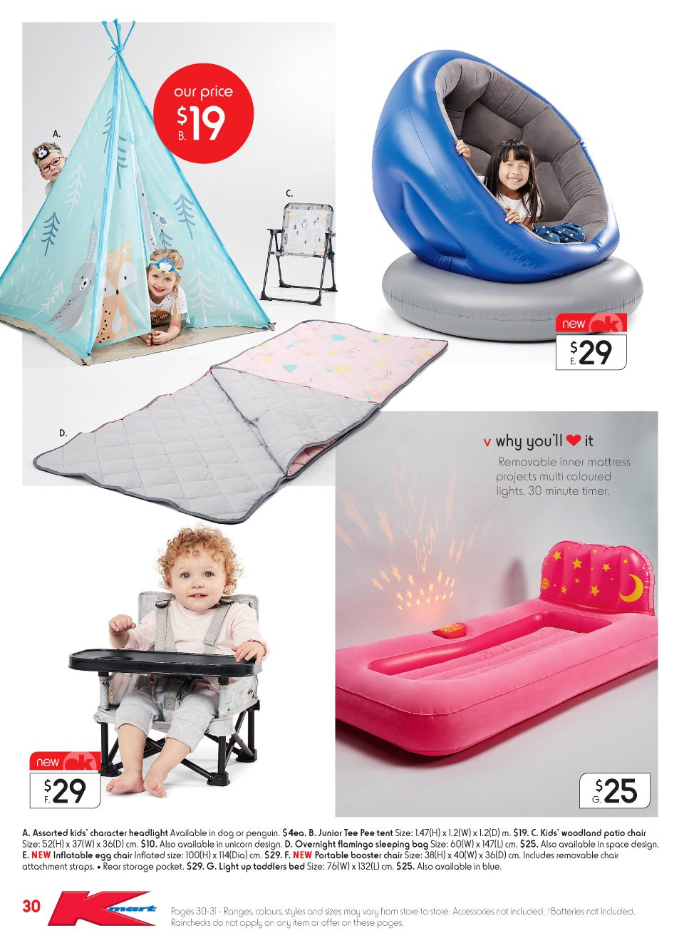 Kmart catalogue  - 20.9.2018 - 17.10.2018. Page 30.