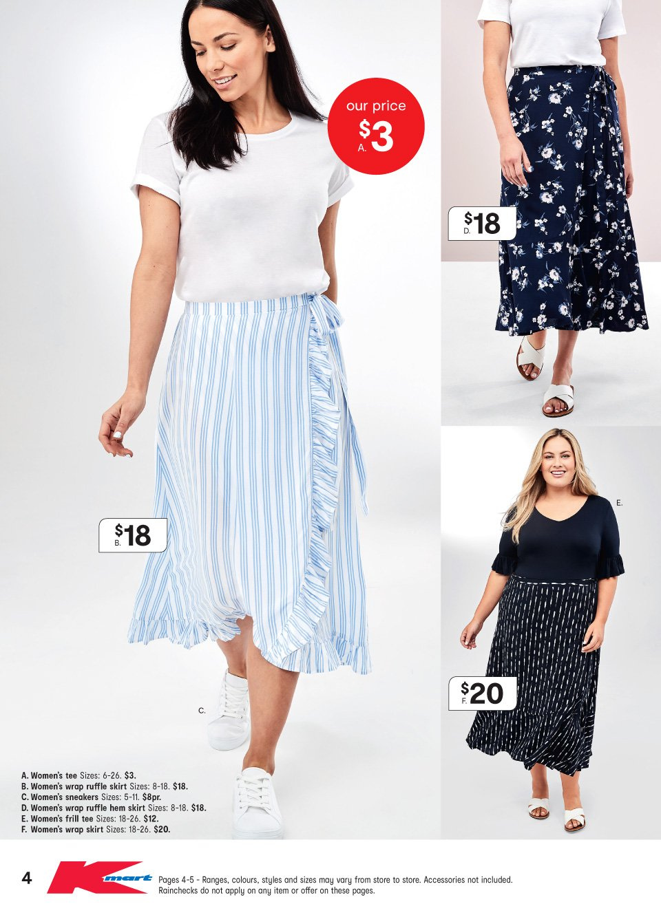 Kmart catalogue  - 11.10.2018 - 31.10.2018. Page 4.