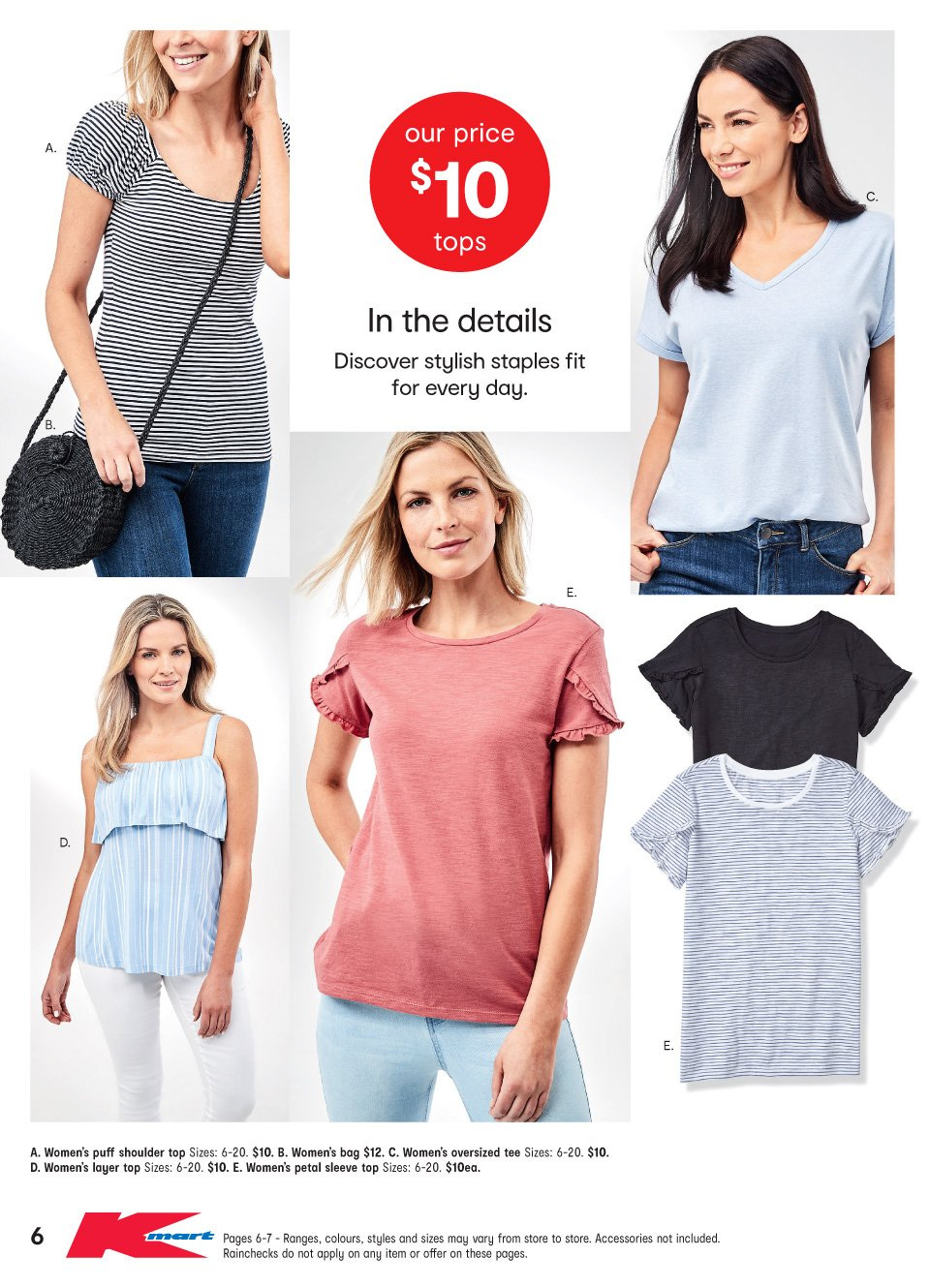 Kmart catalogue  - 11.10.2018 - 31.10.2018. Page 6.