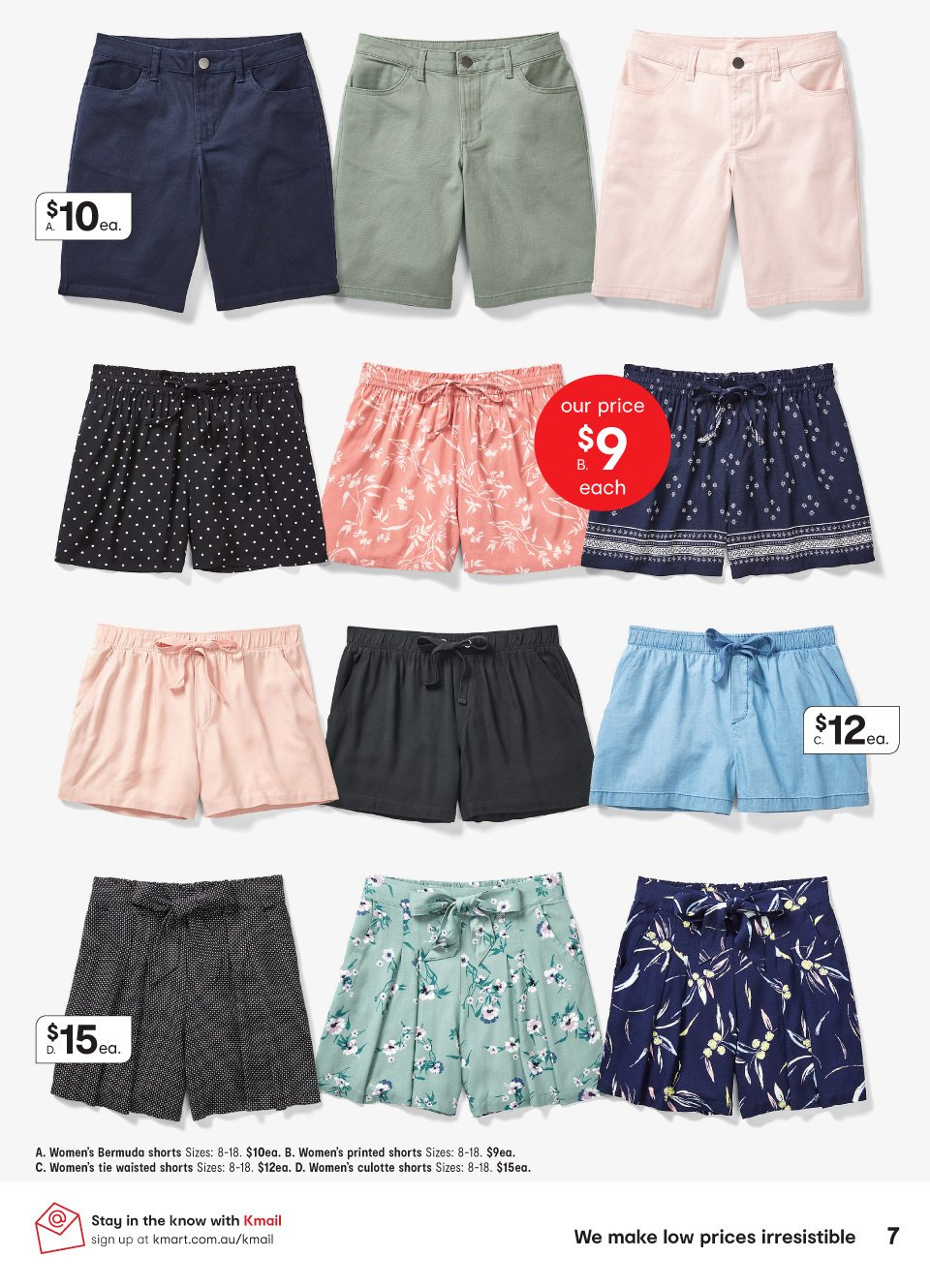 Kmart catalogue  - 11.10.2018 - 31.10.2018. Page 7.