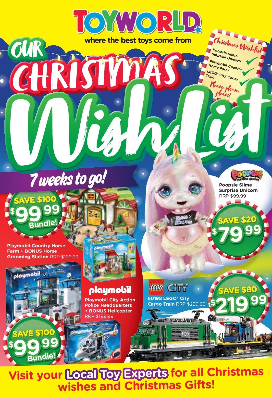 Toyworld catalogue and weekly specials 6 11 2018 - 25 11 2018 | Au