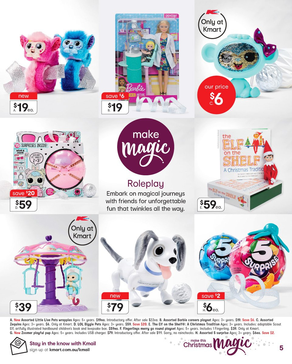 Kmart catalogue  - 1.11.2018 - 14.11.2018. Page 5.