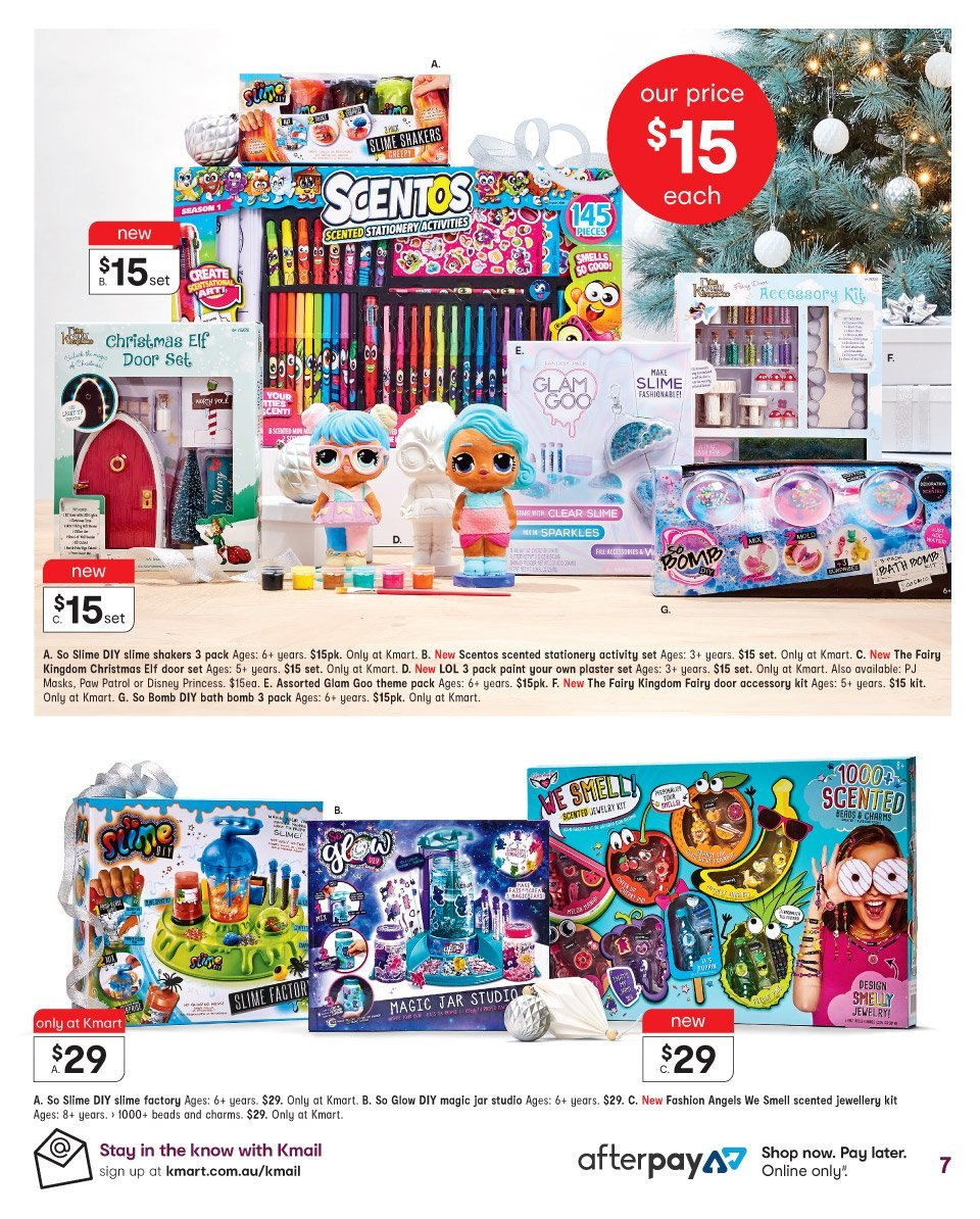 Kmart catalogue  - 1.11.2018 - 14.11.2018. Page 7.