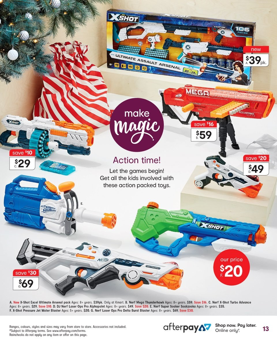 Kmart catalogue  - 1.11.2018 - 14.11.2018. Page 13.