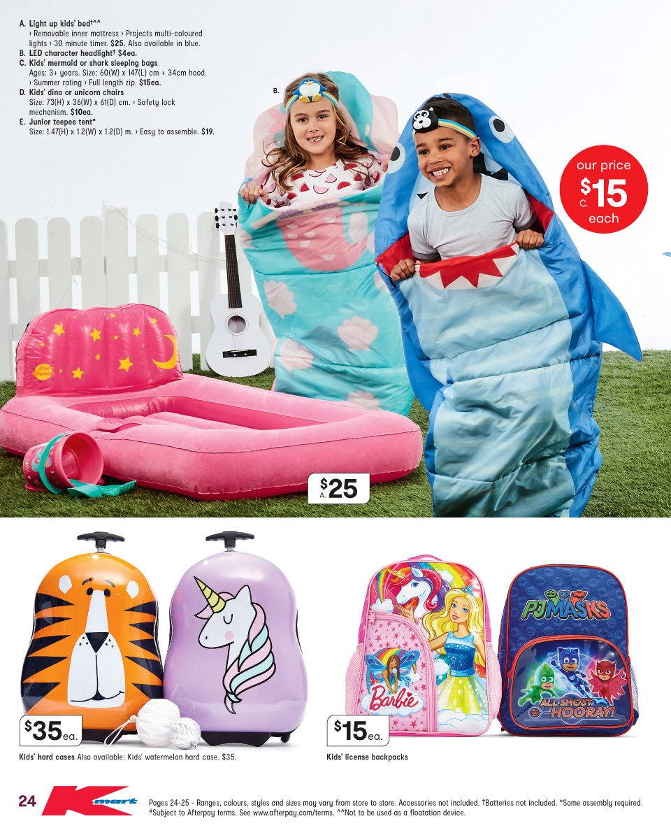 Kmart catalogue  - 1.11.2018 - 14.11.2018. Page 24.