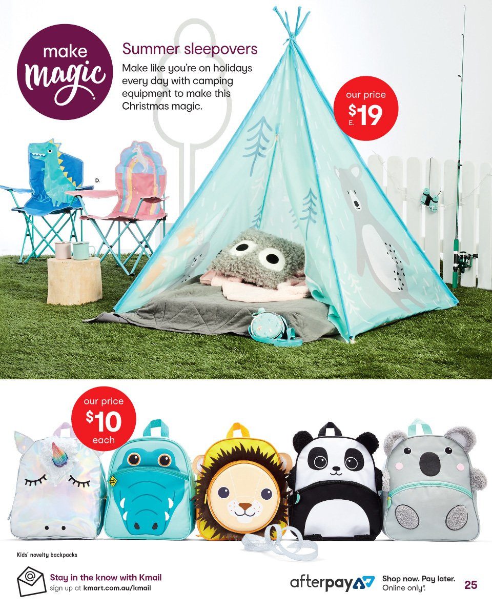 Kmart catalogue  - 1.11.2018 - 14.11.2018. Page 25.