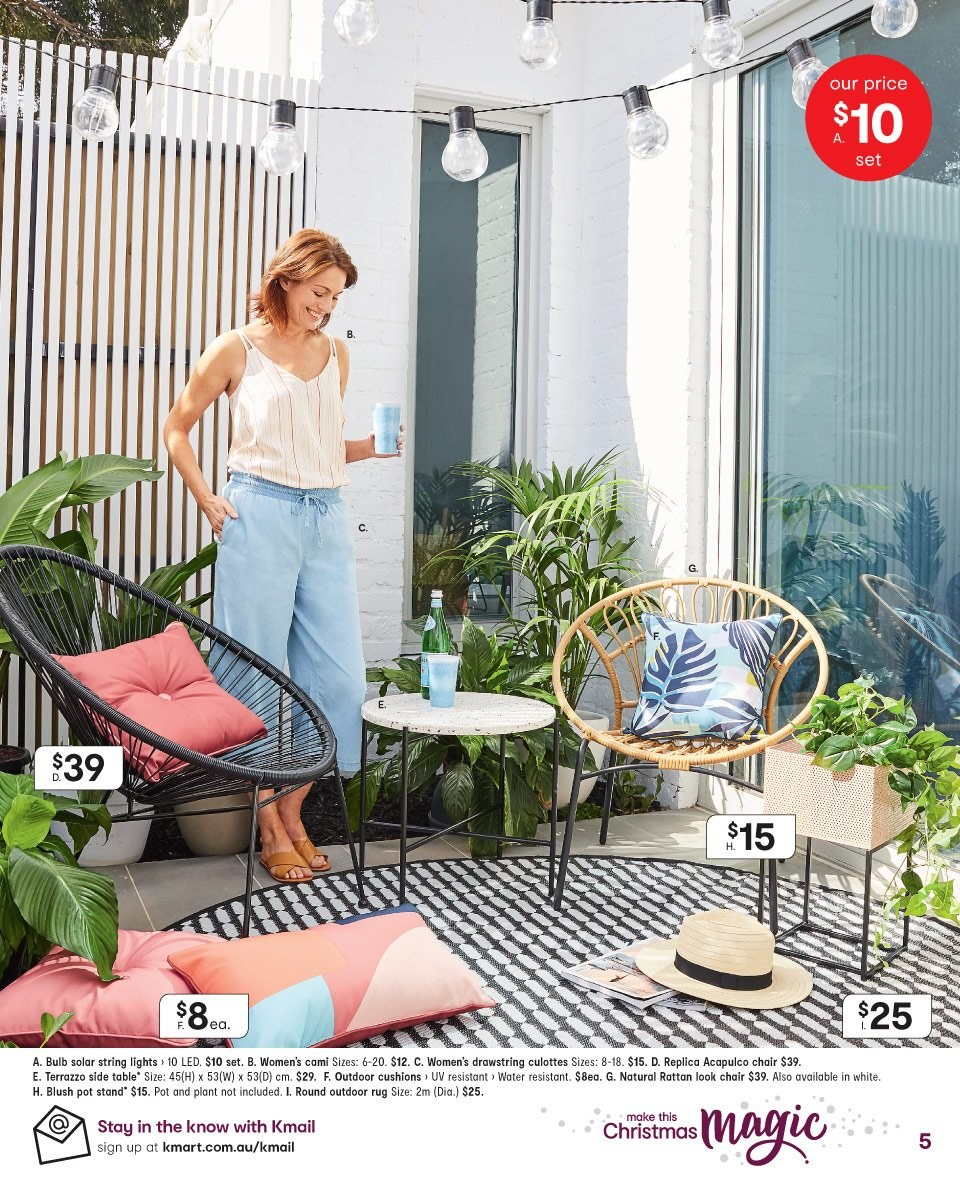 Kmart catalogue  - 8.11.2018 - 21.11.2018. Page 5.