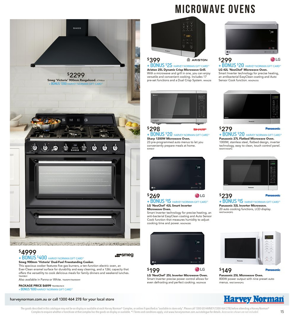 Harvey Norman catalogue and weekly specials 9 11 2018