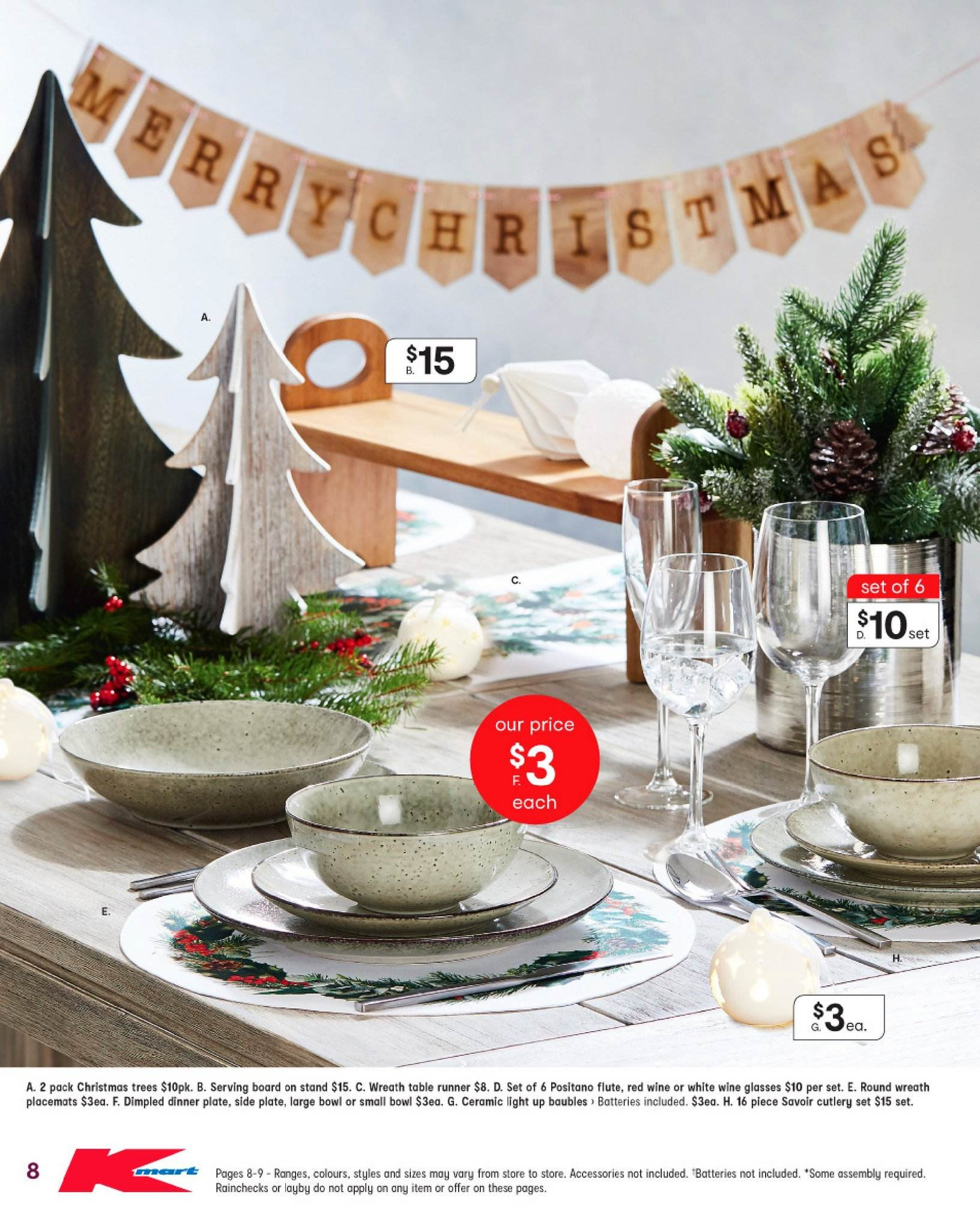 Kmart catalogue  - 15.11.2018 - 28.11.2018. Page 8.