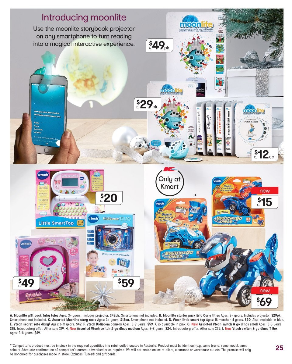 Kmart catalogue  - 22.11.2018 - 5.12.2018. Page 25.