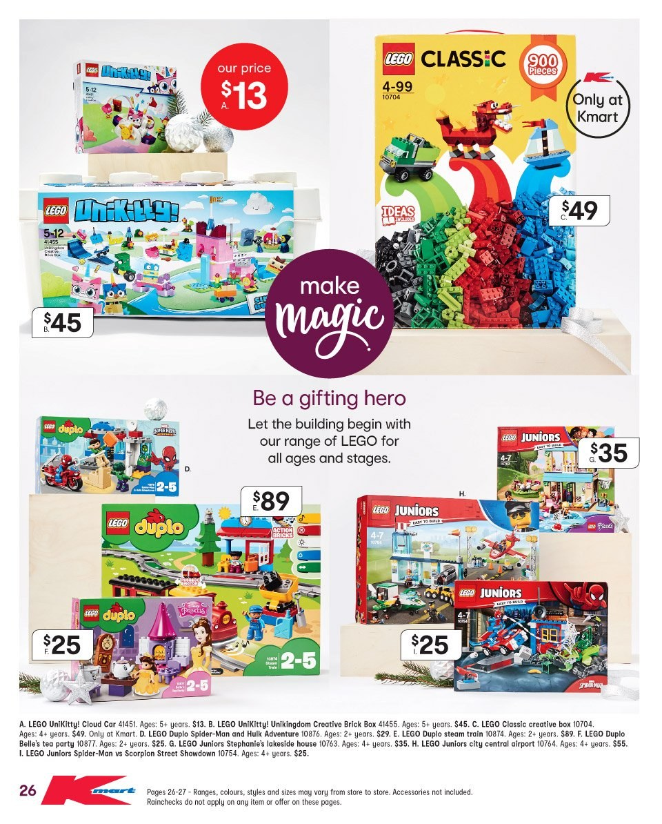 Kmart catalogue  - 22.11.2018 - 5.12.2018. Page 26.