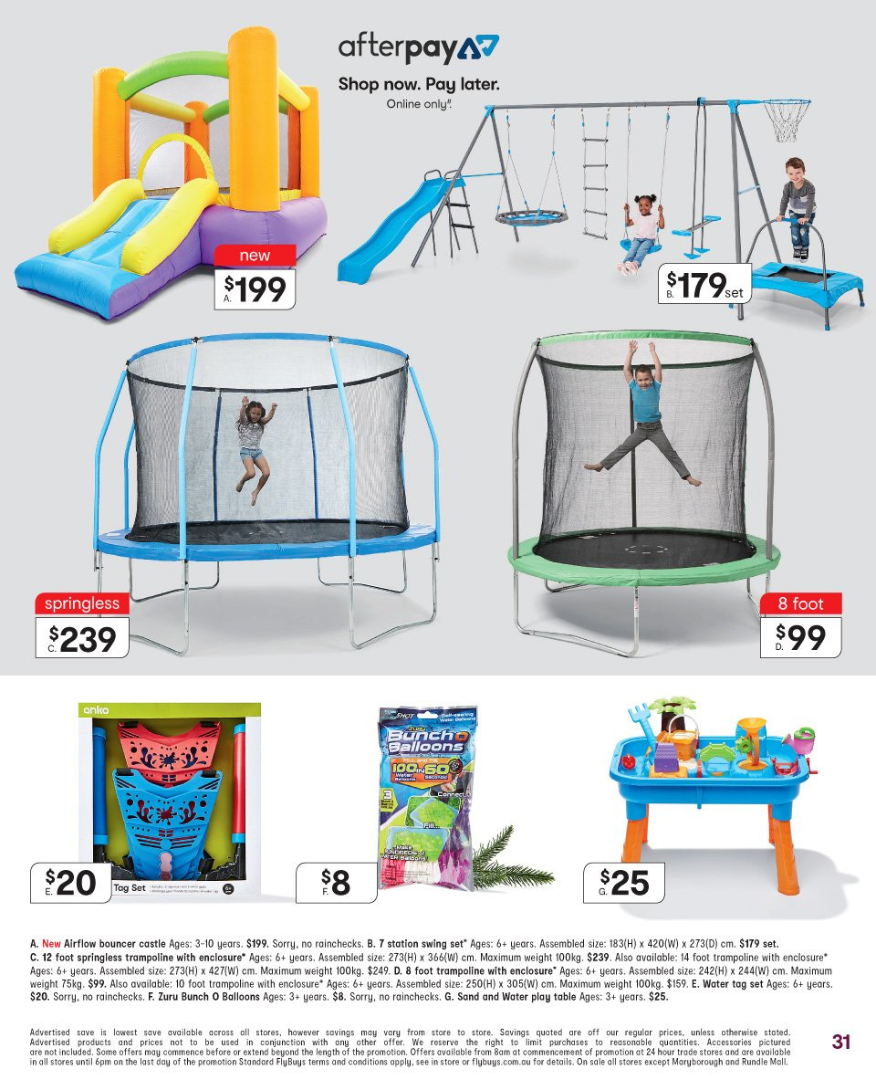 Kmart catalogue  - 22.11.2018 - 5.12.2018. Page 31.