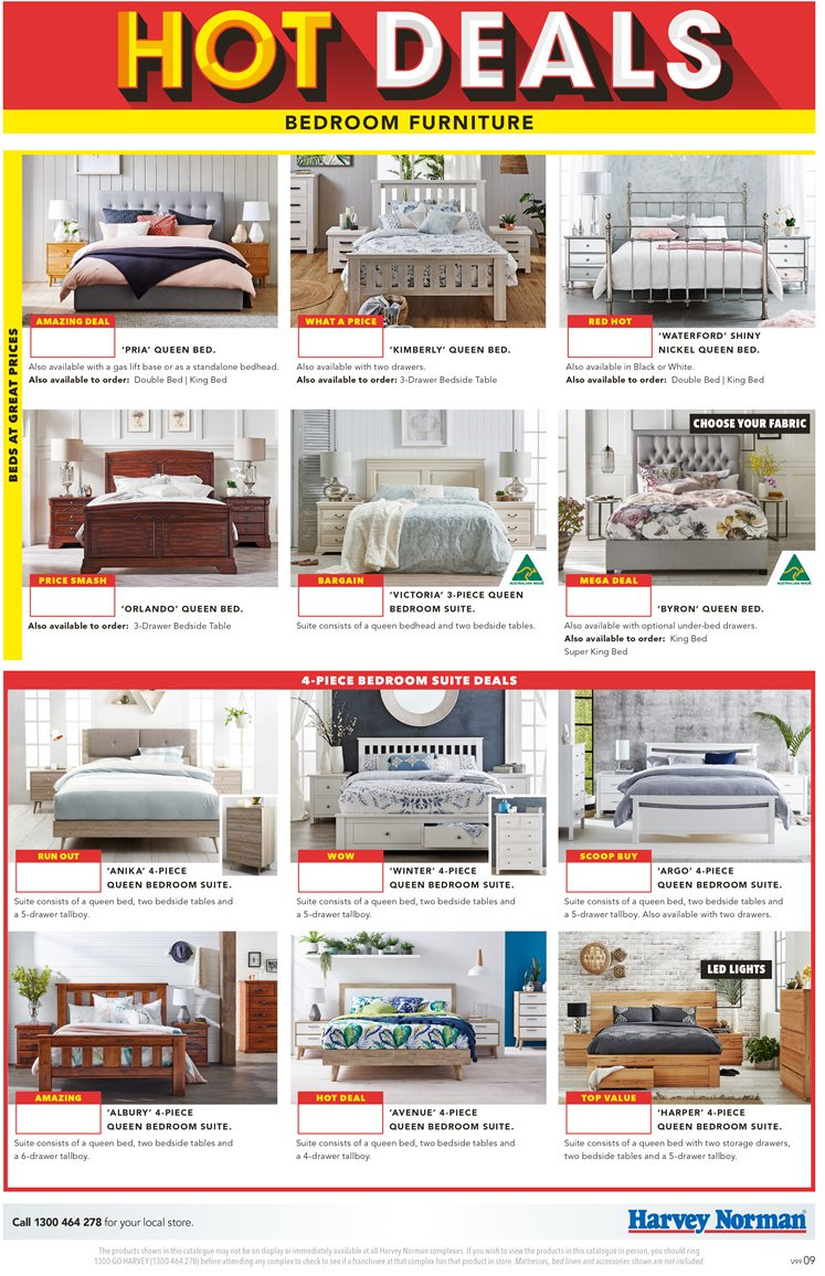 Harvey norman catalogue 23 11 2018 16 12 2018 sales products bed