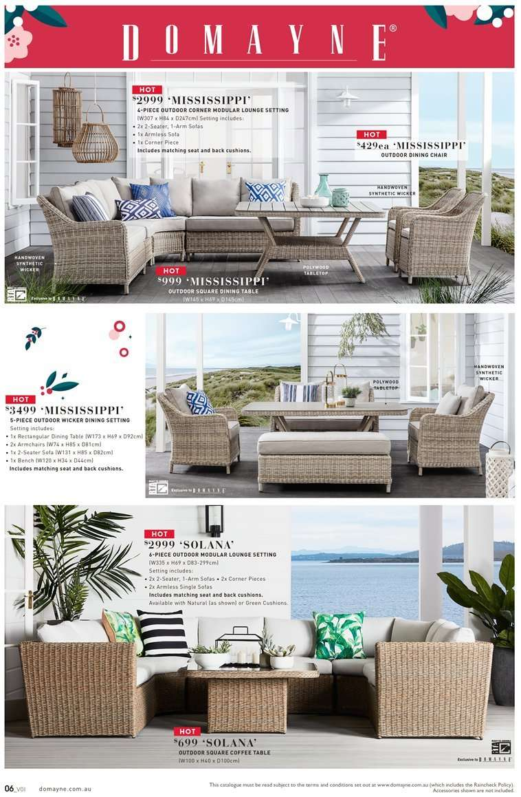 Domayne Catalogue And Weekly Specials 23 11 2018 16 12 2018 Au