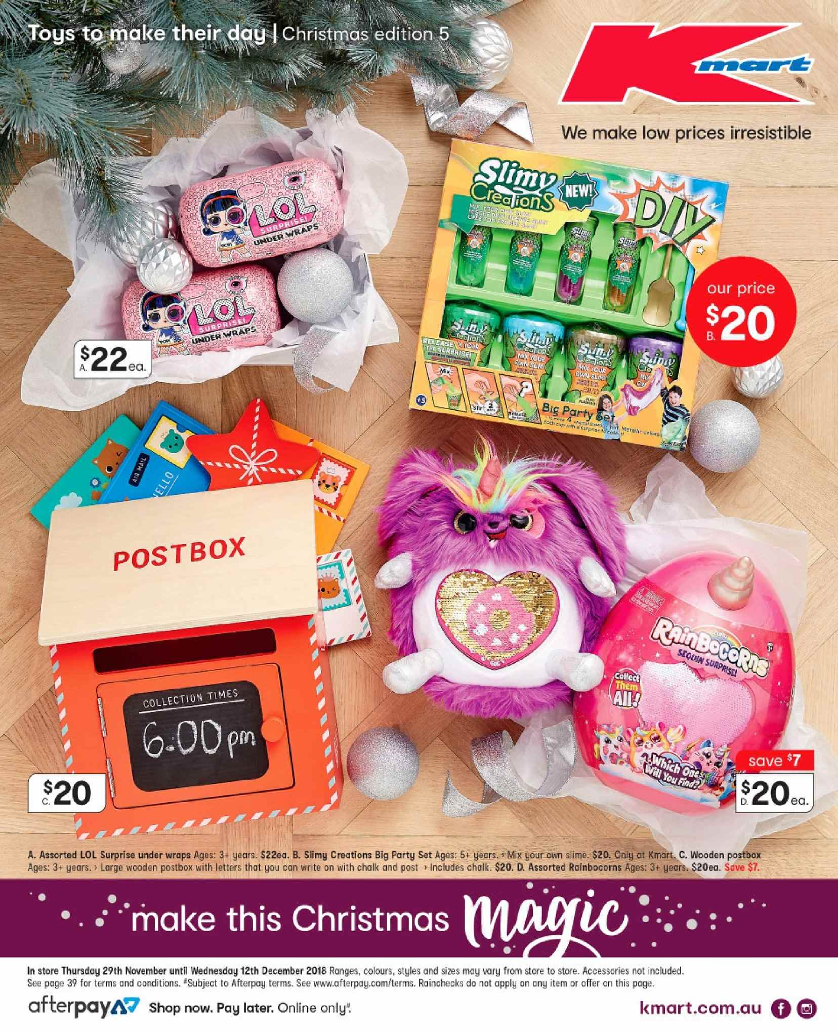 Is Kmart Open On Christmas Day.Kmart Catalogue And Weekly Specials 29 11 2018 12 12 2018