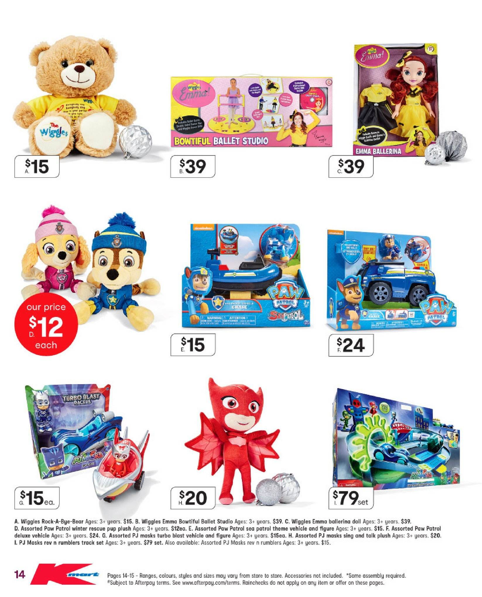 Kmart catalogue  - 29.11.2018 - 12.12.2018. Page 14.
