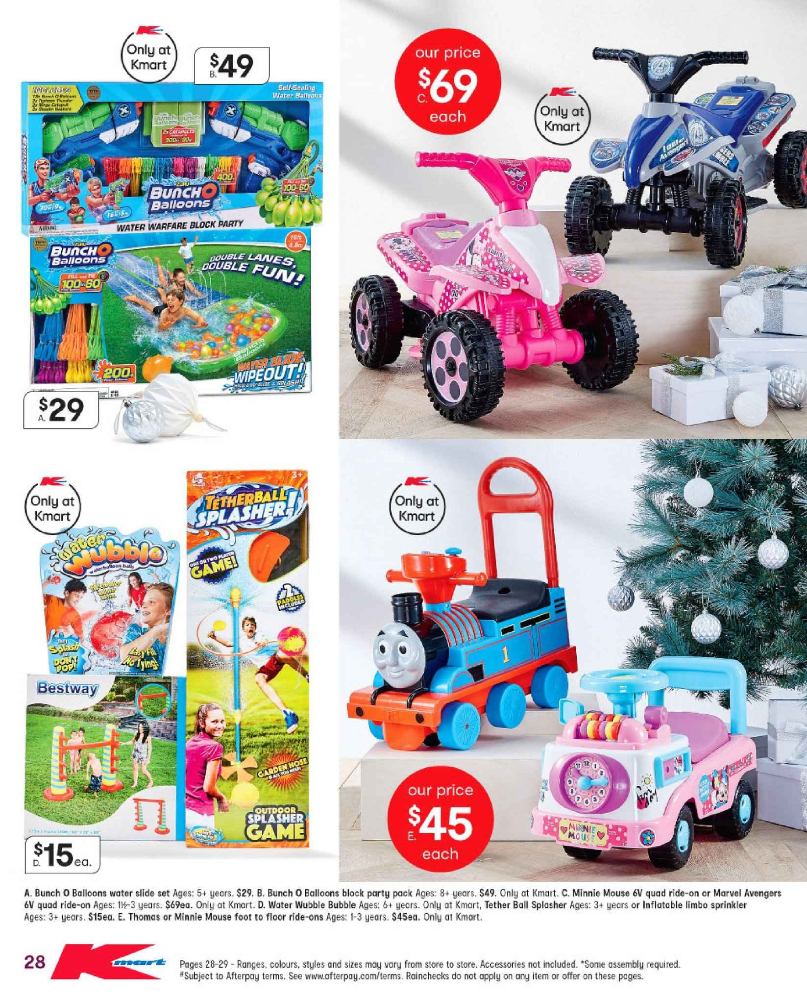 Kmart catalogue  - 29.11.2018 - 12.12.2018. Page 28.