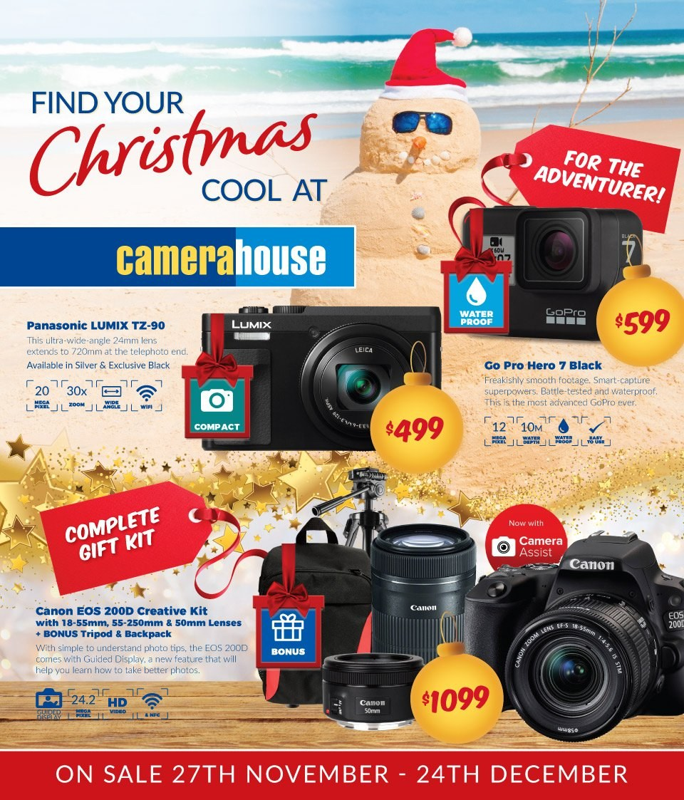 Camera House catalogue  - 27.11.2018 - 24.12.2018. Page 1.