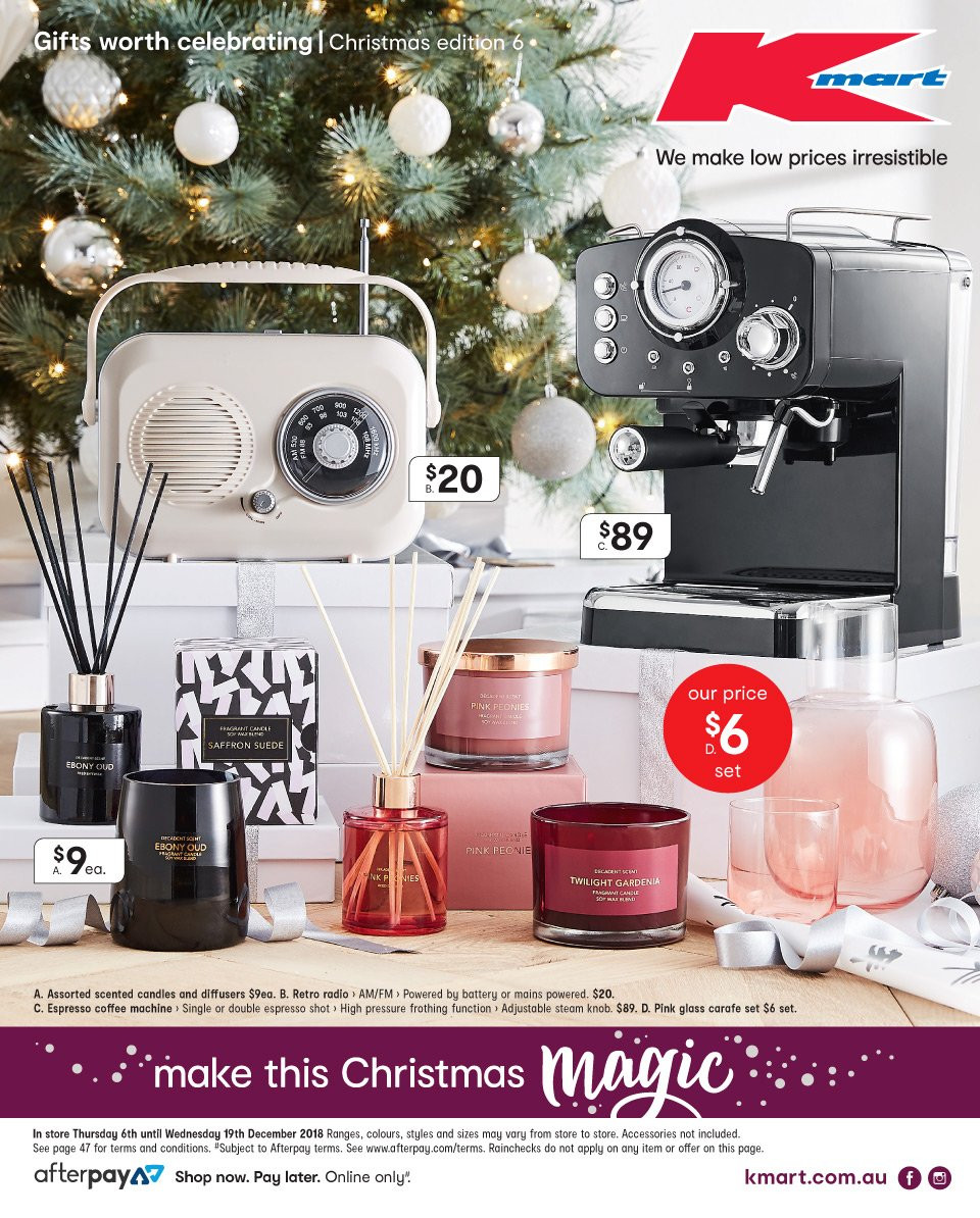 Kmart catalogue  - 6.12.2018 - 19.12.2018. Page 1.