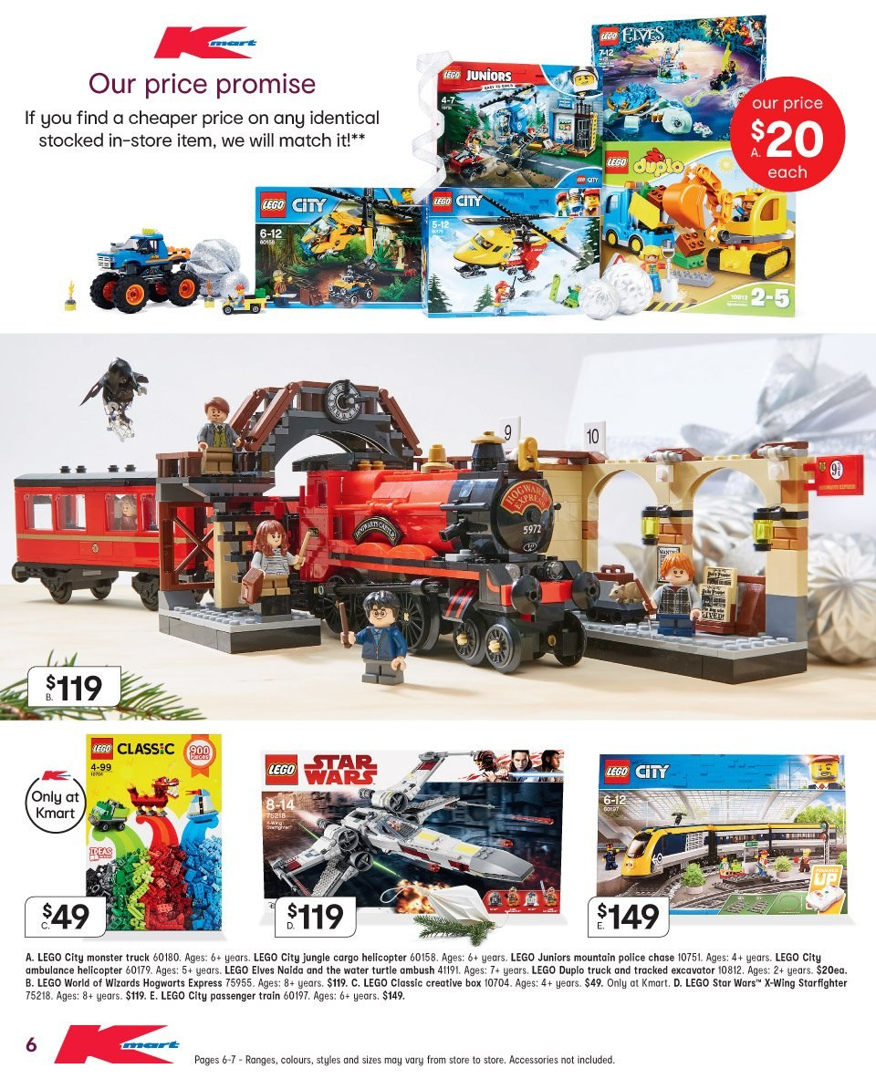 Kmart catalogue and weekly specials 6 12 2018 - 19 12 2018 | Au